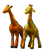 The Two Toy Giraffes