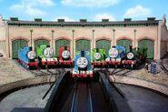 Thomas, Edward, Henry, Gordon, James, Percy and Toby (Thomas and Friends)
