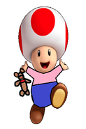 Toad as Michael Darling