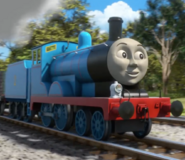 Edward from thomas and friends as the new smooth clean shaved male lobster doctor