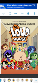 GLA The Loud House Poster