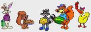 Jumpstart spanish five animal friends