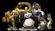 Kung fu panda 3 po and friends