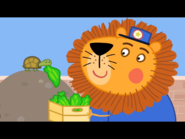 Mr Lion The Keeper In Charge of the Tortoises
