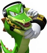 Vector the Crocodile in Team Sonic Racing