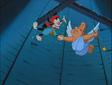 Wakko and Pip flying