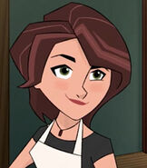 Aunt Cass Hamada in Big Hero 6- The Series