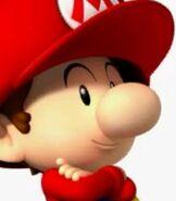 Baby Mario in Mario Super Sluggers