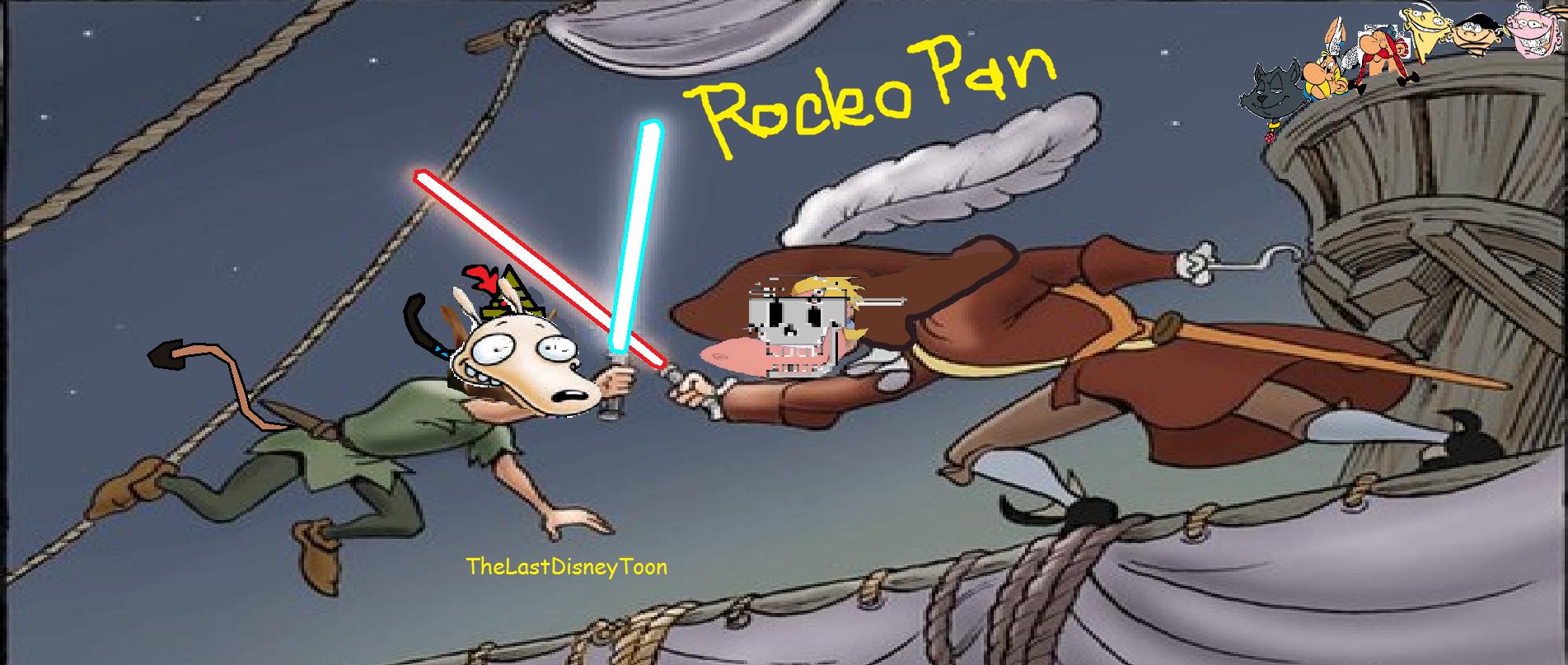 Rocko Pan (TheLastDisneyToon and Toonmbia Style)