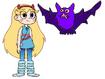 Star meets Vampire Bat