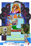 The Little Mer Pureheart 1997 Re-release Poster