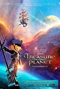 Treasure Planet (Disney and Sega Animal Style) Poster