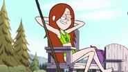 Wendy Corduroy's swimsuit