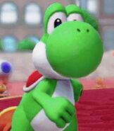 Yoshi in Super Mario Party.