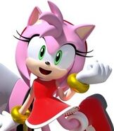 Amy Rose in Team Sonic Racing