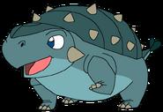 Brody as infant thetarbosaurusguard