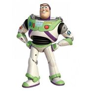 Buzz lightyear as Devious Diesel