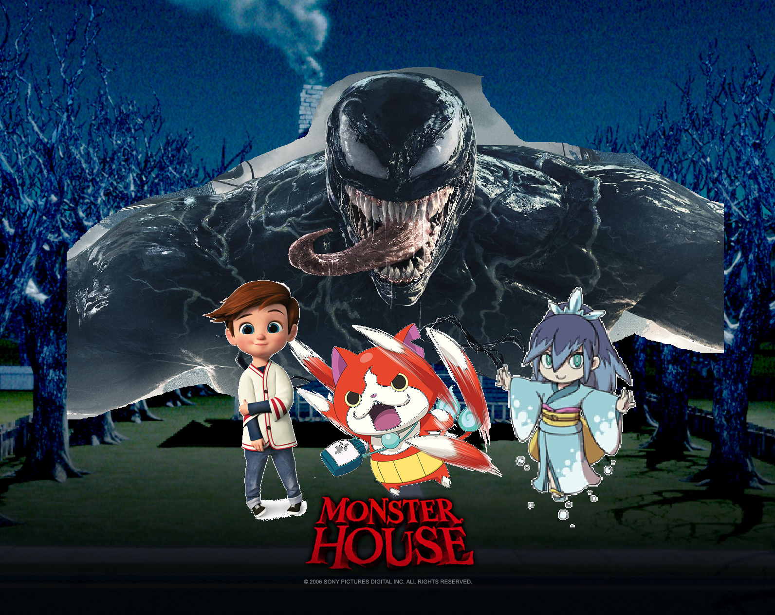 Monster House (Zack Isaac Sanchez Style)