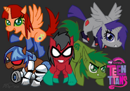 Ponified Teen Titans