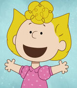 Sally Brown in Snoopy in Space
