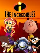 The Incredibles (Gabriel Adam Pictures Style) Poster