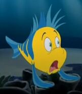 Flounder in The Little Mermaid 3 Ariel's Beginning