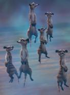Meerkats from Arthur Christmas