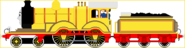 Molly The Yellow Engine sprite