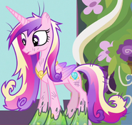 Princess Cadance trapped in slime