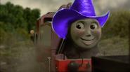 Rosie with cowboy hat 5961