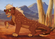 The marsupial lion king by viergacht-d7prk4f