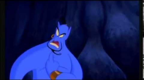 Animal yells at Jafar to be quiet