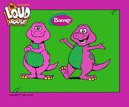 Barney in Loud House Style