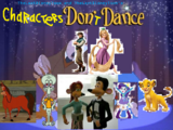 Characters Don't Dance
