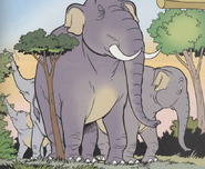 Elephant goliath 2 comic