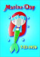 Finished Marine Day 2020 Poster! - RFART419