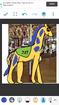 Joy as Carousel Giraffe