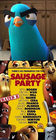 Lance Sterling Hates Sausage Party (2016)