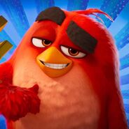 Red Angry Birds Movie 2