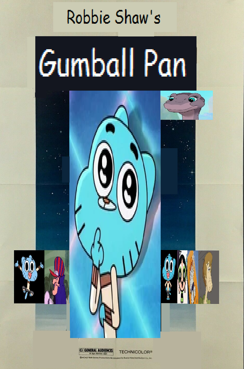Gumball Pan (Robbie Shaw's Style)