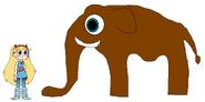 Star meets Sri Lankan Elephant
