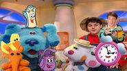 The Dora and Blue Show - Dora and Blue's bedroom (with Tickety, Backpack, Map, Steve, Joe, Sprinkles, Horace, and Boris)