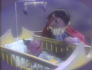 The flashback of Baby Count in episode 1705