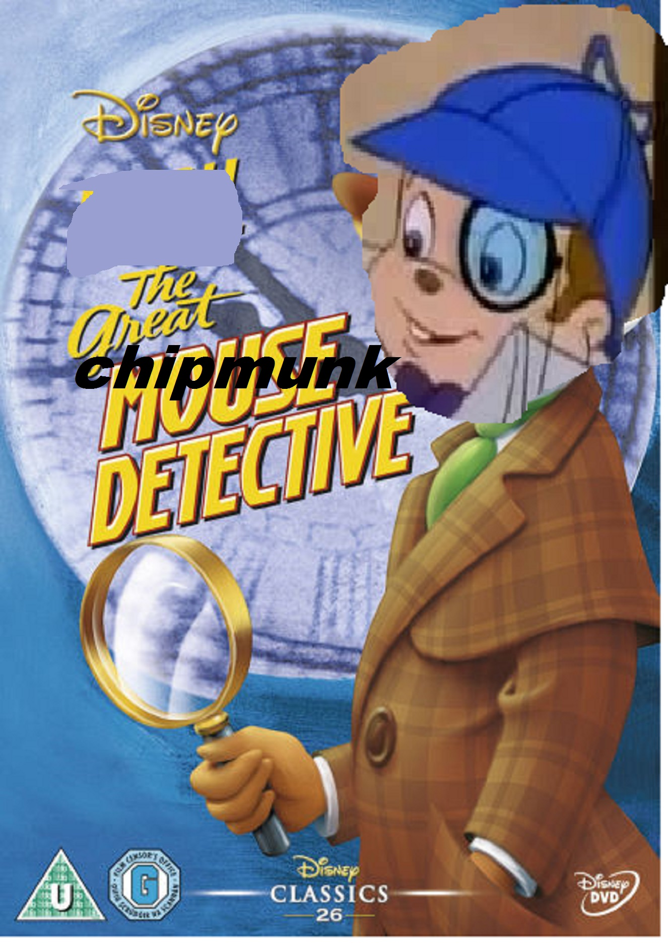 The Great Chipmunk Detective