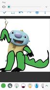 Wally Trollman as Giganotosaurus