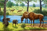 Wildlife-of-the-pleistocene-era-mauricio-anton