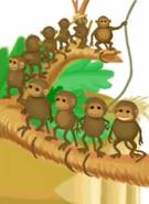 Jumpstart firstgrade ten little monkeys