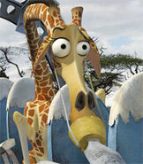 Melman in Madagascar Escape 2 Africa