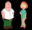 Peter Griffin and Lois Griffin as Mowgli's Parents