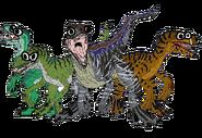 Velociraptors (CO3000)
